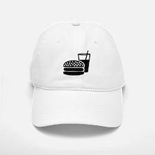 Fast food - Burger Baseball Baseball Cap