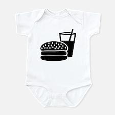 Fast food - Burger Infant Bodysuit