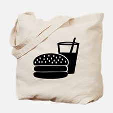 Fast food - Burger Tote Bag