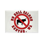 No Bull Saloon 1 Rectangle Magnet (10 pack)