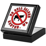 No Bull Saloon 1 Keepsake Box