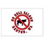 No Bull Saloon 1 Large Poster