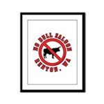 No Bull Saloon 1 Framed Panel Print