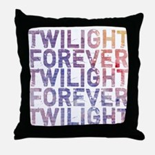 Twilight Forever Mauve Mist Throw Pillow