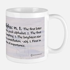 Alpha Small Mugs