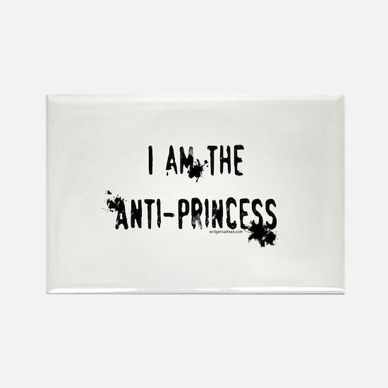 I am the Anti-Princess Rectangle Magnet