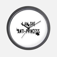 I am the Anti-Princess Wall Clock