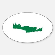 Crete Sticker (Oval)
