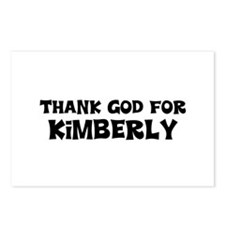 Thank God For Kimberly Postcards (Package of 8)