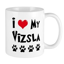 I Love My Vizsla Mug