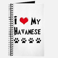 I Love My Havanese Journal
