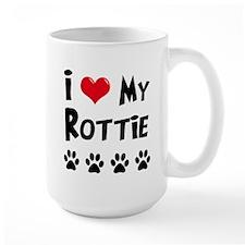 I Love My Rottie Mug