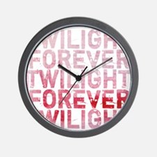 Twilight Forever Rouge Romance Wall Clock