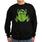 Frog: Ribbit Sweatshirt (dark)