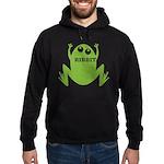 Frog: Ribbit Hoodie (dark)