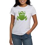 Frog: Ribbit Women's T-Shirt