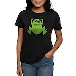 Frog: Ribbit Women's Dark T-Shirt