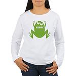 Frog: Ribbit Women's Long Sleeve T-Shirt