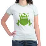 Frog: Ribbit Jr. Ringer T-Shirt