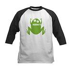 Frog: Ribbit Kids Baseball Jersey