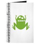 Frog: Ribbit Journal