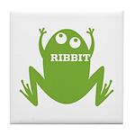 Frog: Ribbit Tile Coaster