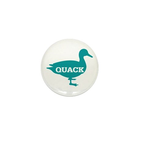 Duck: Quack Mini Button (10 pack)