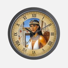 Amarna Lady Wall Clock