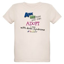 ASK ME! Organic Kids T-Shirt