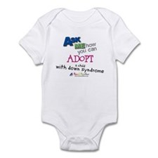 ASK ME! Infant Bodysuit