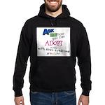 ASK ME! Hoodie (dark)