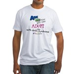 ASK ME! Fitted T-Shirt