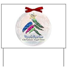 2010 Christmas Angel Tree Yard Sign