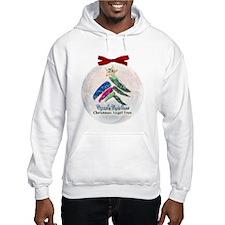 2010 Christmas Angel Tree Hooded Sweatshirt