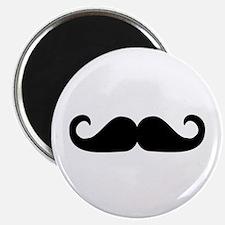 """Beard - Mustache 2.25"""" Magnet (100 pack)"""