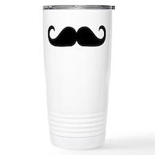 Beard - Mustache Travel Coffee Mug