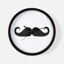 Beard - Mustache Wall Clock