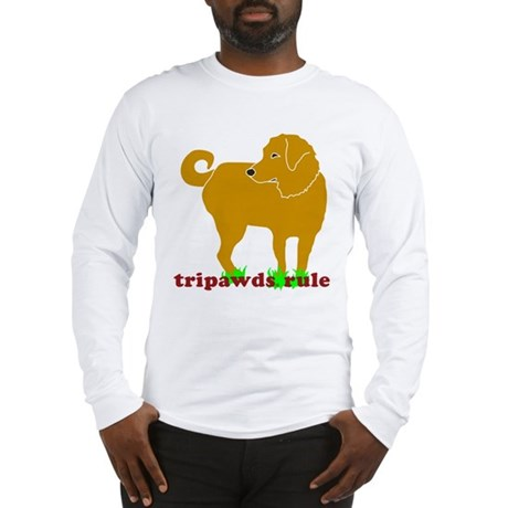 Golden Tripawds Rule Long Sleeve T-Shirt