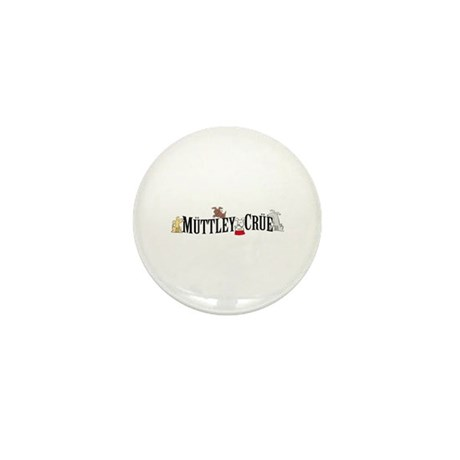 Muttley Crue Mini Button (100 pack)