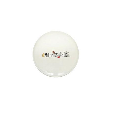 Muttley Crue Mini Button