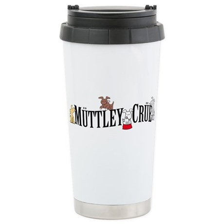 Muttley Crue Stainless Steel Travel Mug