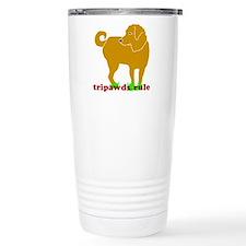 Golden Tripawds Rule Travel Coffee Mug