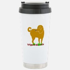 Golden Tripawds Rule Travel Mug