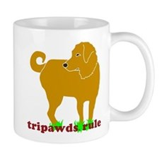 Golden Tripawds Rule Mug