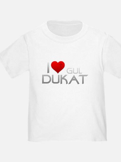 I Heart Gul Duka T-Shirt