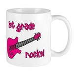 1st Grade Rocks! Guitar Mug