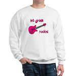 1st Grade Rocks! Guitar Sweatshirt