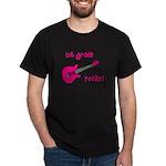1st Grade Rocks! Guitar Dark T-Shirt