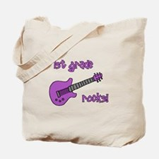 1st Grade Rocks! Guitar Tote Bag