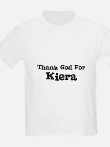 Thank God For Kiera Kids T-Shirt